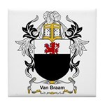 Van Braam Coat of Arms Tile Coaster