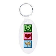 Peace Love Camels Keychains