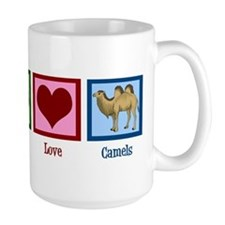 Peace Love Camels Mug