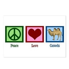 Peace Love Camels Postcards (Package of 8)