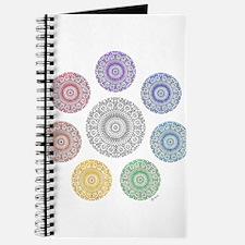 seven chakra circle Journal