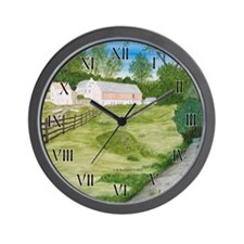 Trout Stream Wall Clock