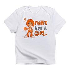 Fight Like a Girl 42.8 Kidney Cancer Infant T-Shir