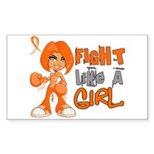 Fight Like a Girl 42.8 Kidney Cancer Decal