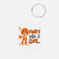 Fight Like a Girl 42.8 Kidney Cancer Keychains