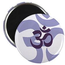 om aum chant symbol Magnet