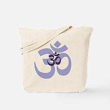om aum chant symbol Tote Bag