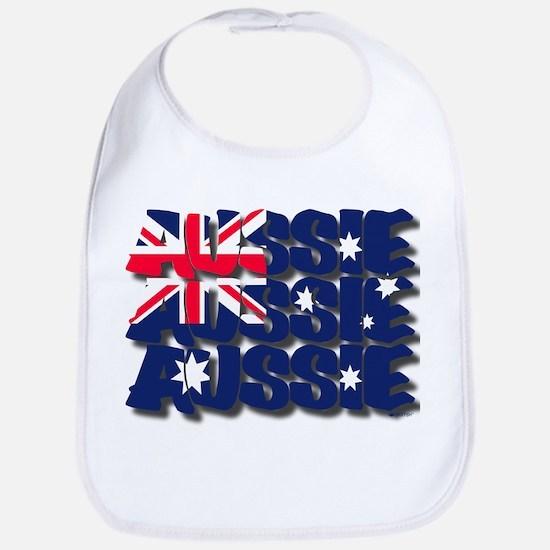 Aussie Aussie Aussie Bib
