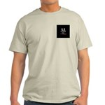 M: still the moron Ash Grey T-Shirt
