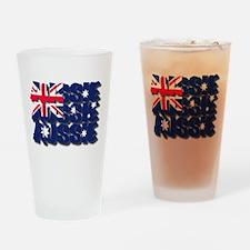 Aussie Aussie Aussie Drinking Glass