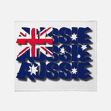 Aussie Aussie Aussie Throw Blanket