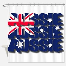 Aussie Aussie Aussie Shower Curtain