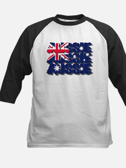 Aussie Aussie Aussie Kids Baseball Jersey