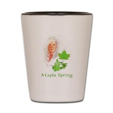 Maple Spring Shot Glass