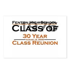 Fenton Class of 1976 30 Year  Postcards (Package o