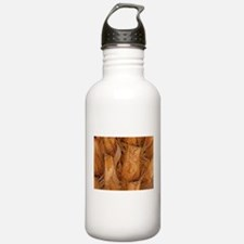 TROPICAL PALM TREE TRUNK Water Bottle