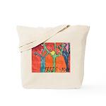 Trees by Max & Jada Thunder Tote Bag