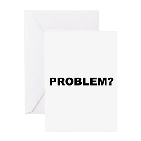 problem.png Greeting Card