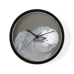 African Grey Dex Wall Clock