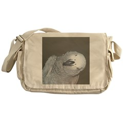 African Grey Dex Messenger Bag