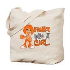 Fight Like a Girl 42.8 MS Tote Bag