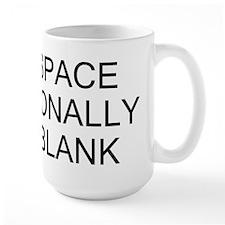 Intentionally Left Blank Mug
