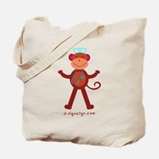 Monkey Nurse Tote Bag