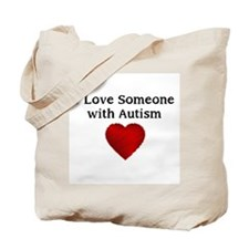 I love someone with autism Tote Bag