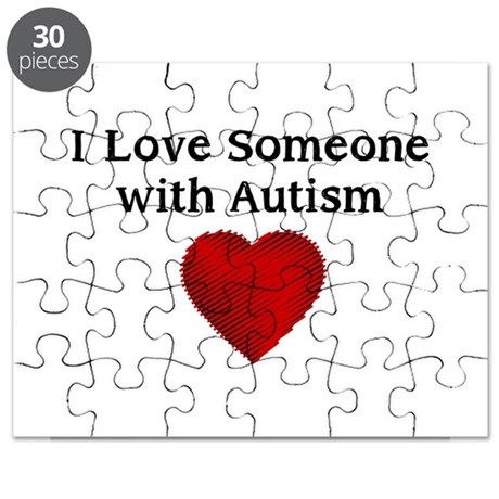 I love someone with autism Puzzle