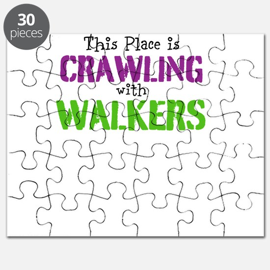 Crawling with walkers Puzzle