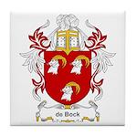 de Bock Coat of Arms Tile Coaster