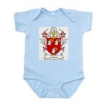 de Bock Coat of Arms Infant Creeper