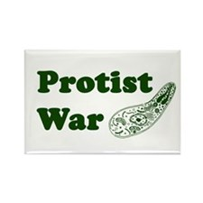 Protist War Rectangle Magnet