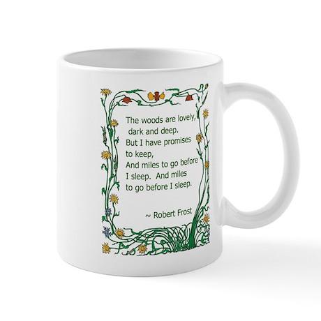 Robert Frost Mug
