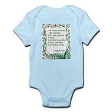 Robert Frost Infant Bodysuit
