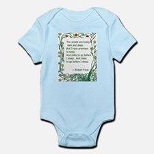 Robert Frost Infant Bodysuit