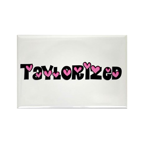 Taylorized Heart Rectangle Magnet (100 pack)