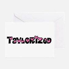 Taylorized Heart Greeting Cards (Pk of 10)