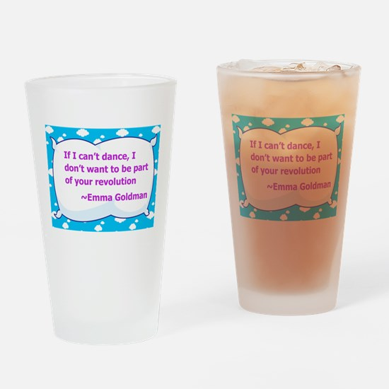 Revolution Drinking Glass