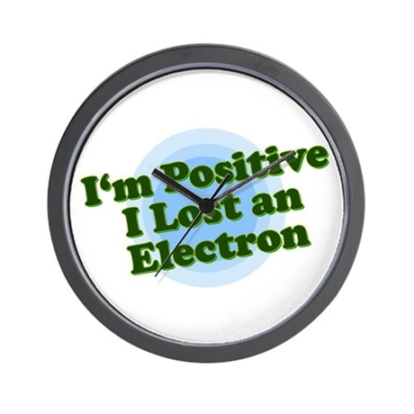 I'm Positive, I lost an elect Wall Clock