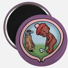 On the Front Nine -ds Magnet