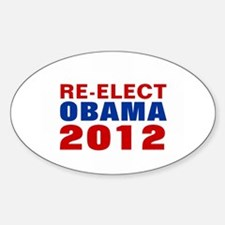RE-ELECT OBAMA 2012 Decal