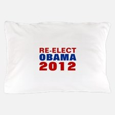 RE-ELECT OBAMA 2012 Pillow Case