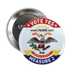 """2.25"""" ND Flag Button (100 pack)"""