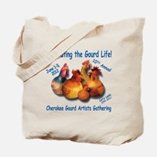 Cute Cherokee gourd gathering Tote Bag
