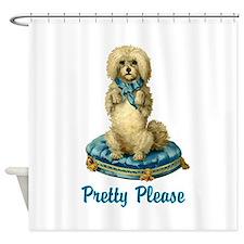 Pretty Please Shower Curtain