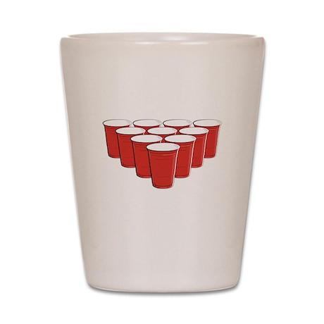 Beer Pong Shot Glass