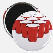 """Beer Pong 2.25"""" Magnet (100 pack)"""