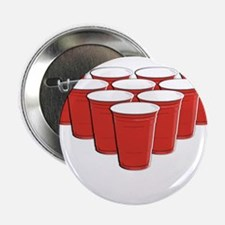 """Beer Pong 2.25"""" Button (10 pack)"""