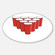 Beer Pong Decal
